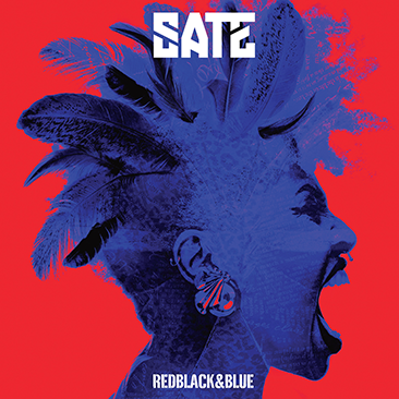 Sate - Red Black and Blue - Cristal Records