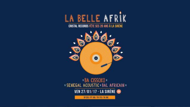 Cristal Records - La Belle Afrik