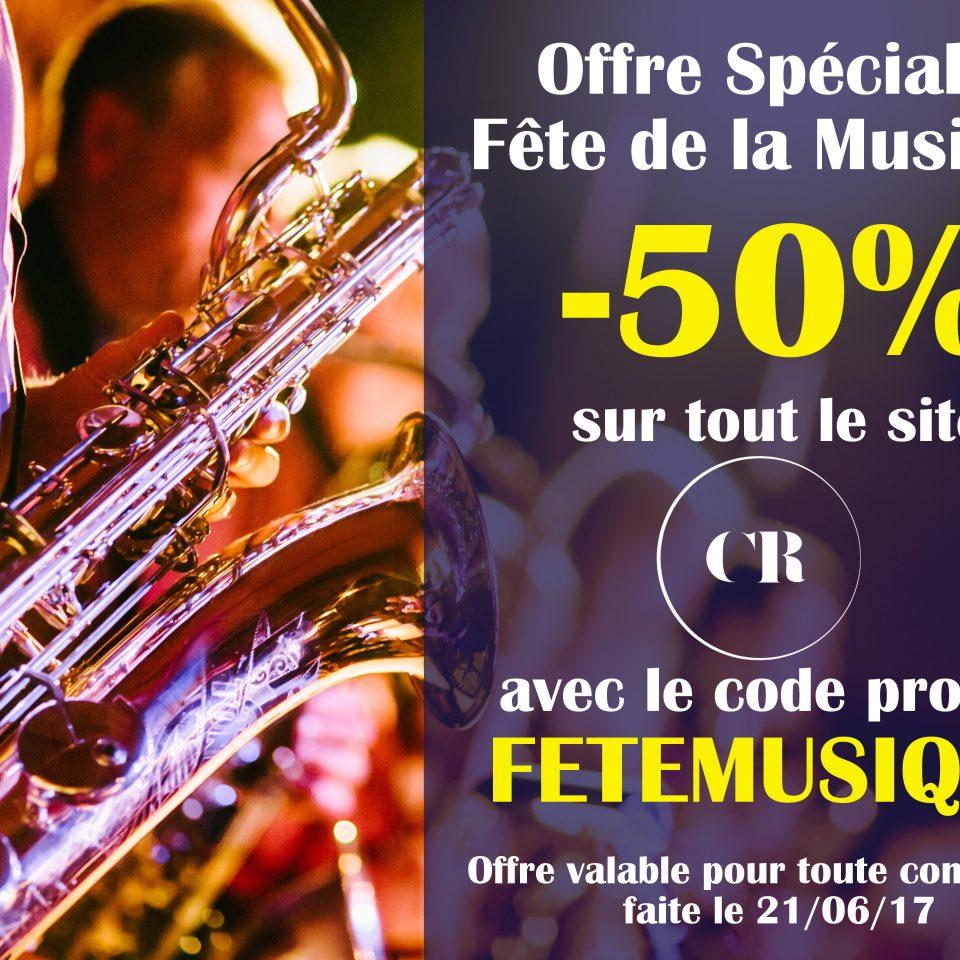 Offre Fete Musique - Cristal Records