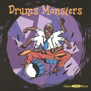 Drums Monsters - Original Sound Deluxe - Cristal Records