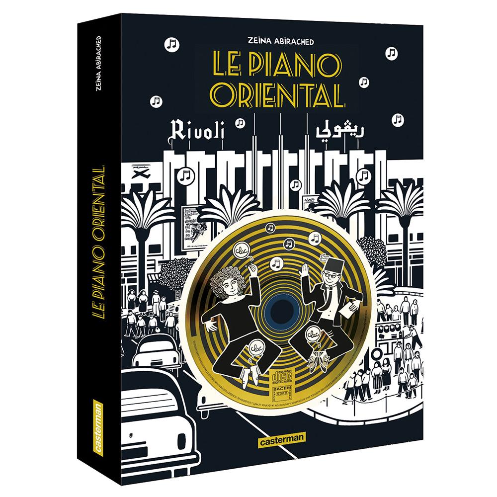 Cristal Records - Stéphane Tsapis - Le Piano Oriental - Bande Déssinée