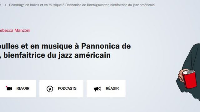 Cristal Records - Pannonica - A Tribute To Pannonica - France Inter