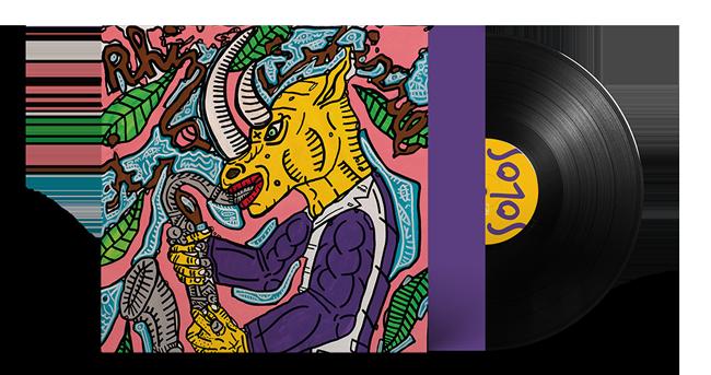 Cristal Records - Lionel Martin - Solos - Vinyl - Mockup