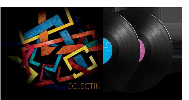 Cristal Records - André Cecarrelli - Hadrien Féraud - Sylvain Luc - Eclectik - Vinyl - Mockup