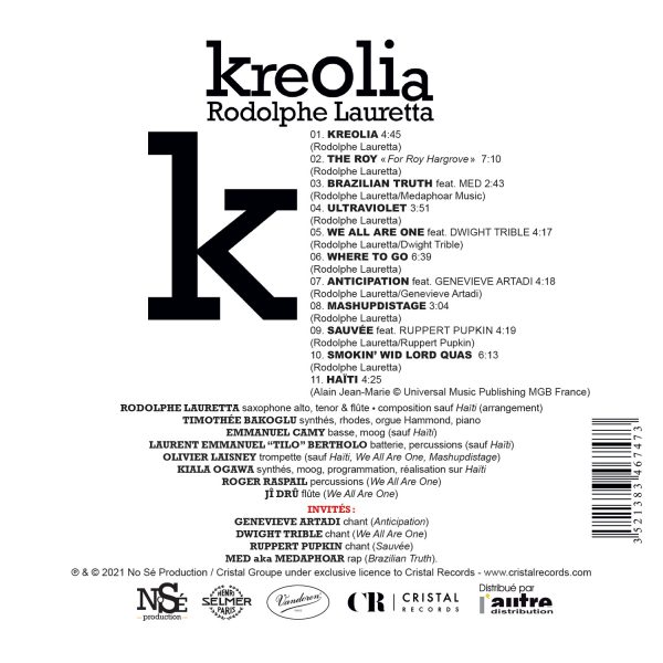 CR344 - 3521383467473 - Rodolphe Lauretta - Kreolia - BACK