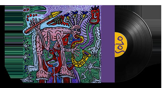 Cristal Records - Lionel Martin - Solo - Vinyl - Mockup
